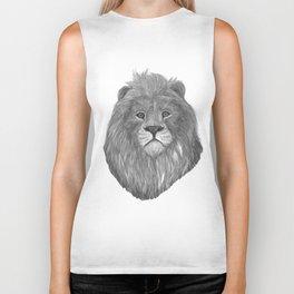 lion head Biker Tank
