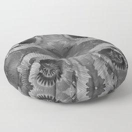 Invagination BW Floor Pillow