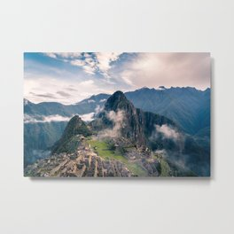 Mountain Peru Metal Print