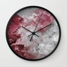 ROSE QUARTZ FADE #1 Wall Clock