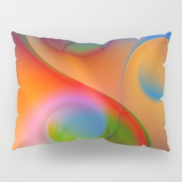 a towel full of colors -14- Pillow Sham