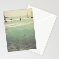 Ocean Sea Water - Ocean Sailboats at Acadia National Park Maine Stationery Cards