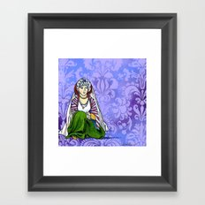 On the Way to Damascus Framed Art Print