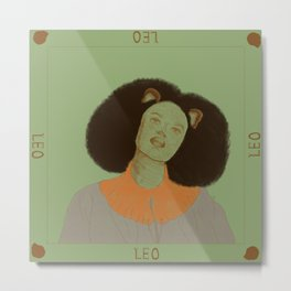 Leo Metal Print