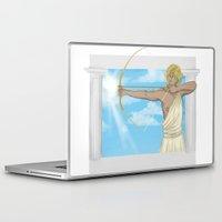 apollo Laptop & iPad Skins featuring Apollo by Khrow