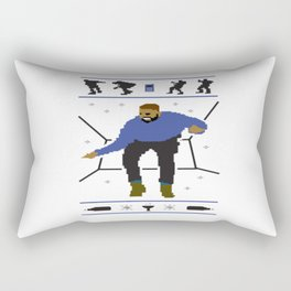 Drake Wheelchair cair Rectangular Pillow