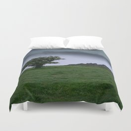Single Tree At Hound Tor Duvet Cover