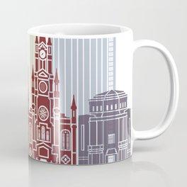Medellin  skyline poster Coffee Mug