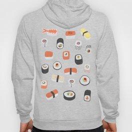 Sushi Roll Maki Nigiri Japanese Food Art Hoody