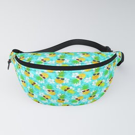 Funny Summer Tropical Pineapples Fanny Pack