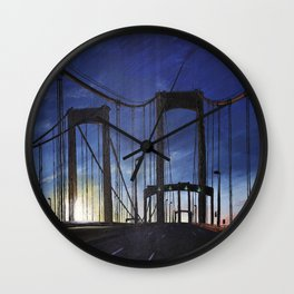 Meet Me On the Other Side Wall Clock