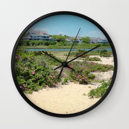 Edgartown Shore Wall Clock
