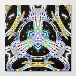 Lightwave Barrier Canvas Print