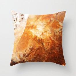 Celestial Fires of Namibia Throw Pillow