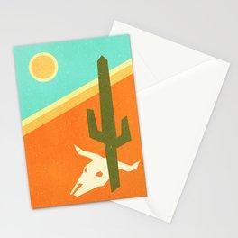 Desert skull Stationery Cards