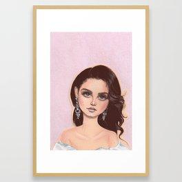 31 Framed Art Print