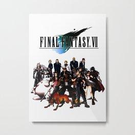 FINAL FANTASY VII Metal Print