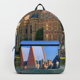 Fascinating Historical Binnenhof Hague Netherlands Ultra HD Backpack