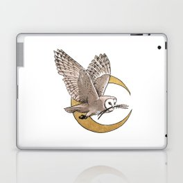 Owl + Lavender Laptop & iPad Skin