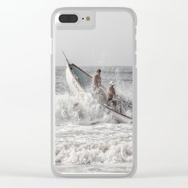 Lifeboat Margate Clear iPhone Case
