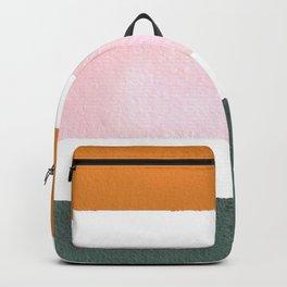 Neutral stripes Backpack