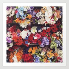 Photoreal Floral Art Print