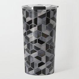 Dark Honeycomb Travel Mug