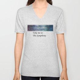 The Symphony Unisex V-Neck