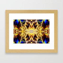 lokyic crystal Framed Art Print