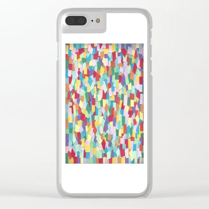 Mosaic 1 Clear iPhone Case