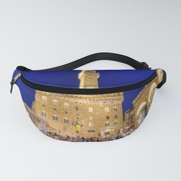 View of the Palazzo Vecchio Fanny Pack