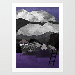 Portals: Alps Art Print
