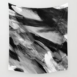 Abstract Artwork Greyscale #1 Wall Tapestry