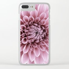 #pink #flower Clear iPhone Case
