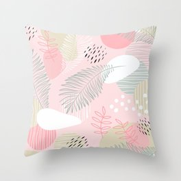 Get out of your own way on Mid Modern Nature Throw Pillow