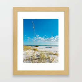 View From the Dune Framed Art Print
