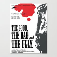 The Good, The Bad and The Ugly Canvas Print