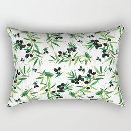 Olive Branch Pattern Rectangular Pillow