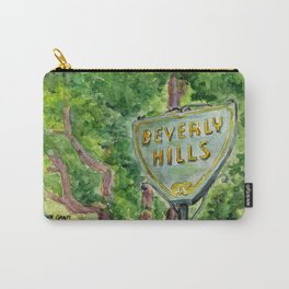 Beverly Hills Street Sign Carry-All Pouch