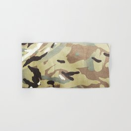 CAMOUFLAGE. British Armed Forces. Latest Multi Terrain Pattern. Hand & Bath Towel