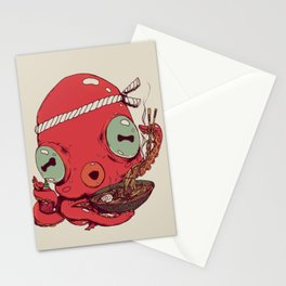Spicy Ramen Stationery Cards