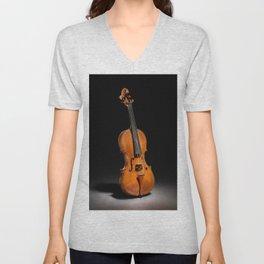 Historical Italian Cello Photograph (1560) Unisex V-Neck