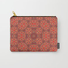 Aztec Sunshine Pattern Carry-All Pouch
