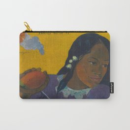 Paul Gauguin - Woman with Mango Carry-All Pouch