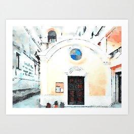 Small church Art Print
