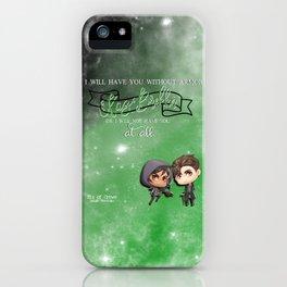 Kaz Brekker iPhone Case