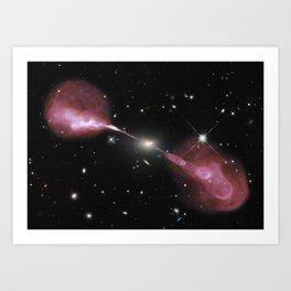Hercules Galaxy Society6 Planet Prints Art Print
