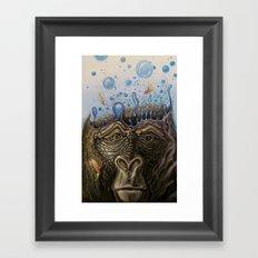 Silverback Synapse Framed Art Print