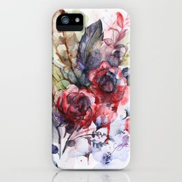 Bloodflowers iPhone Case