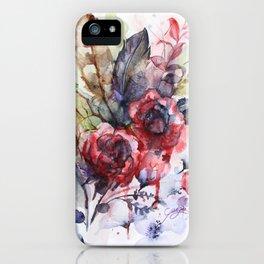 Bloodflowers iPhone Case